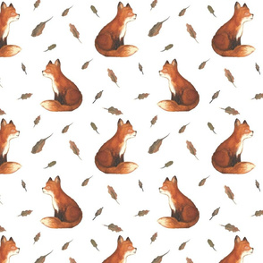 Fuchs als Aqurell