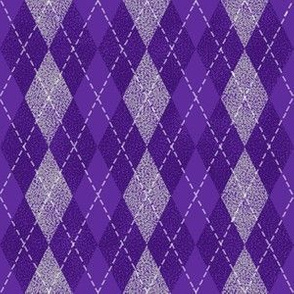 argyle purple and pink