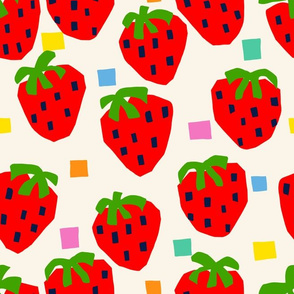 Boxy Strawberry - (Large Scale)