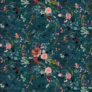 Fable Floral (teal) SML