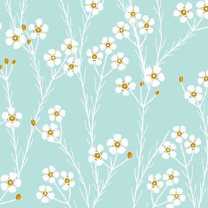winter flora - geraltdon wax - mint