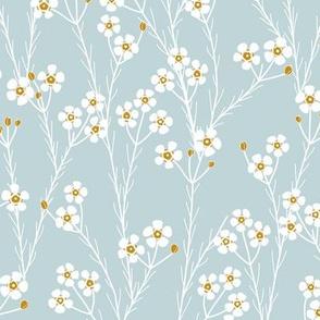 winter flora - geraltdon wax - sage
