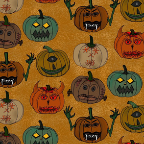 Scary Pumkin Monsters