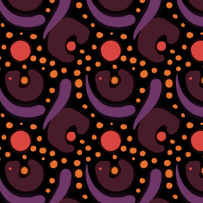 Purple Graphic