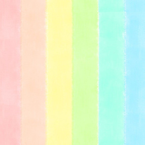 Pastel Watercolour Rainbow