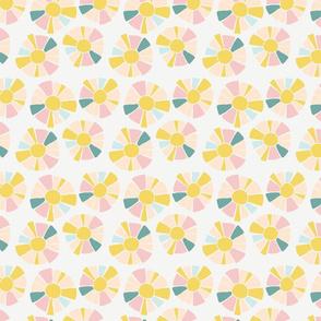 Sunshine Flower in Pastel