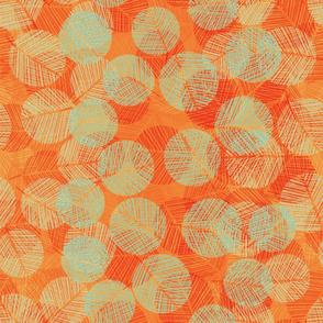 leaf_dots-orange-mint