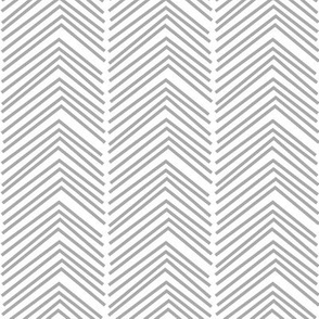 chevron love LG grey