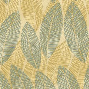 leaf-row-beige-blue