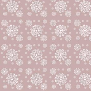 Floral Pinwheels-Pink