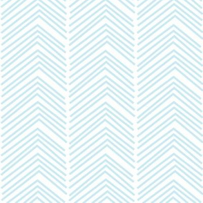 chevron love LG ice blue