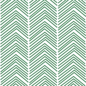chevron love LG kelly green
