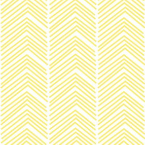 chevron love LG lemon yellow