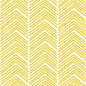 chevron love LG mustard yellow