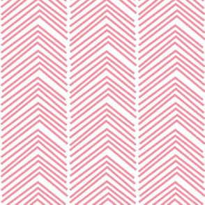chevron love LG pretty pink