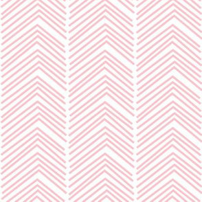 chevron love LG light pink