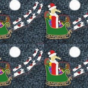 Santa Dachshund