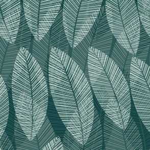 leaf-row-teal-mint