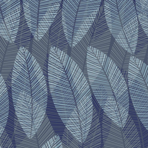 leaf-denim_navy blue