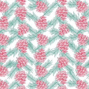 Holiday Pine Cones