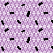 Batty Dots Purple