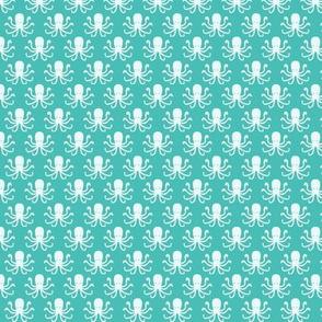 Preppy Octopuses - White