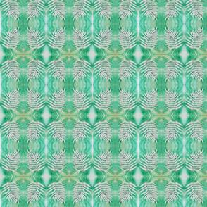 Green Watercolor Fern