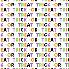 (small scale) trick or treat - multi - halloween - LAD19BS