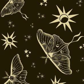 Golden Luna Pattern