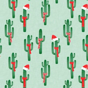 Christmas Cactus - mint - LAD19