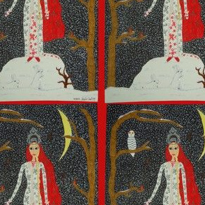 Snow Maiden (Red Version)