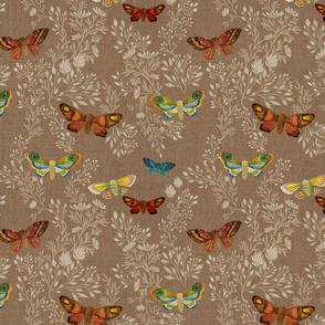 Night Moths {Linen}