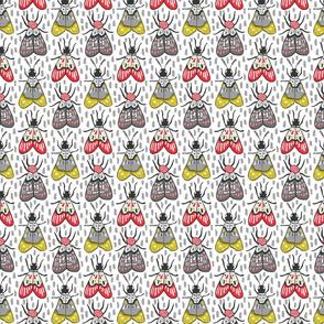 Grayish Moths