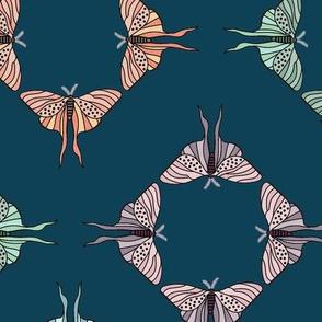 Luna Moths-Stylized