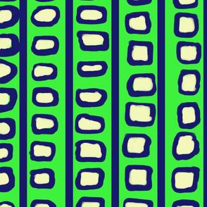 Lines and Circles Brilliant Green