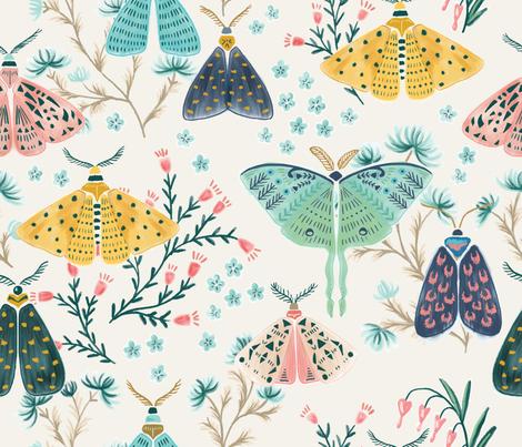 Moths in Pastels