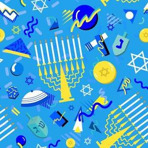 80's Postmodern Hanukkah Celebration