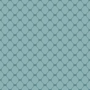 RopeKnotGridNeutralTurquoise