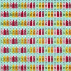 TINY -xvodka cruiser - fabric, booze, alcohol, - mint