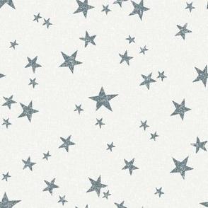 stars fabric - stone - sfx4011 - star fabric, nursery fabric, baby fabric, simple fabric, minimal fabric, baby design
