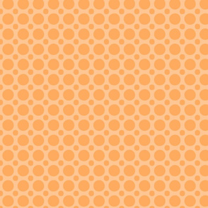 dark orange dots