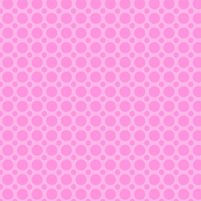 pink cotton candy dots