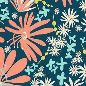 Beautiful Blooms - Dark