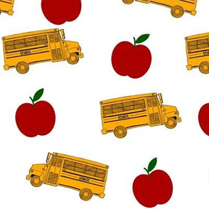 Tossed Buses and Apples