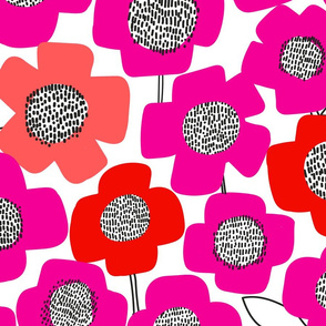 PopUpFlower_multipink