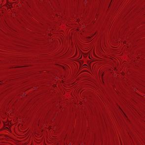 liquid paint red