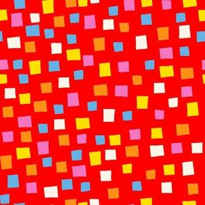 Confetti Red