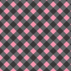 Sleepy Series Pink Gingham Dark