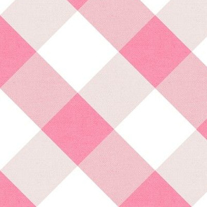 Sleepy Series Pink Gingham Light Jumbo