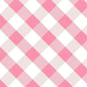 Sleepy Series Pink Gingham Light Large